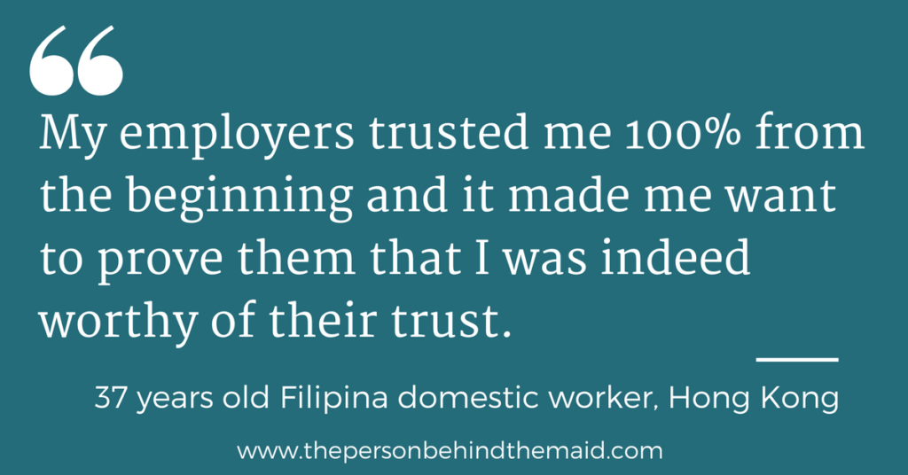 Migrant domestic worker quote